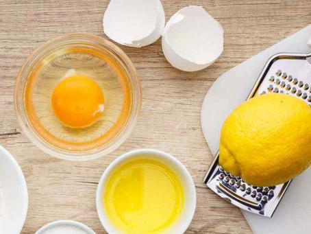 90 second Lemon Mug Cake