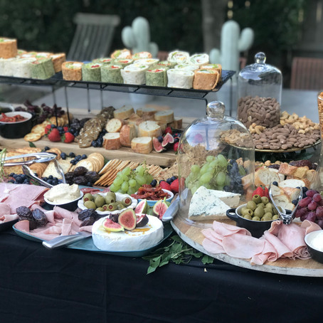 How to create a decadent grazing table for under $10 per head