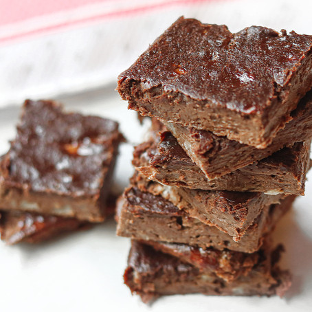 Three Ingredient Fudgey Brownies