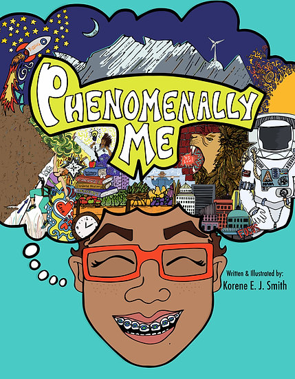"""Phenomenally Me"" 8.5 x 11 Hardcover"