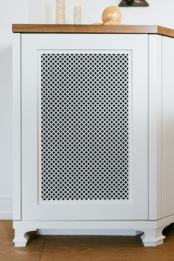 Wall Grille Close-up