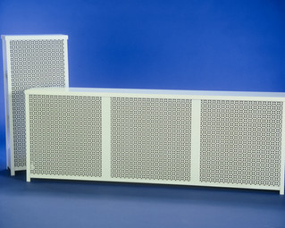 Radiator Cover Pair with custom grille style