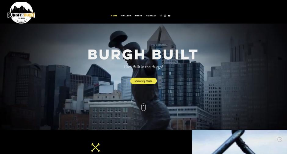 Burgh Built Website