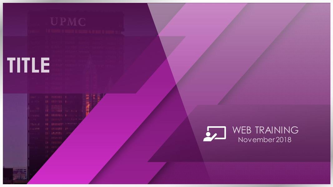 PowerPoint Web Training Intro