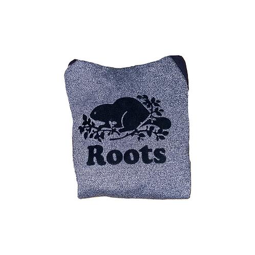 Roots Hoodie grey/black