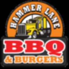 Hammer Lane BBQ & Burgers Logo