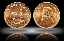 Gold Krugerrand Coin, 1-troy oz. Gold