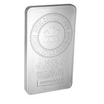 Royal Canadian Mint, 10-troy oz. Silver Bar, .9999