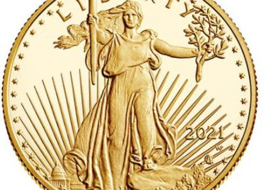 American Gold Eagle, Type 2, 2021