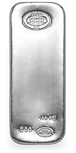 Asahi 100 troy oz., .999 Silver Bar
