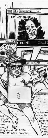 QZAP Residency Comic