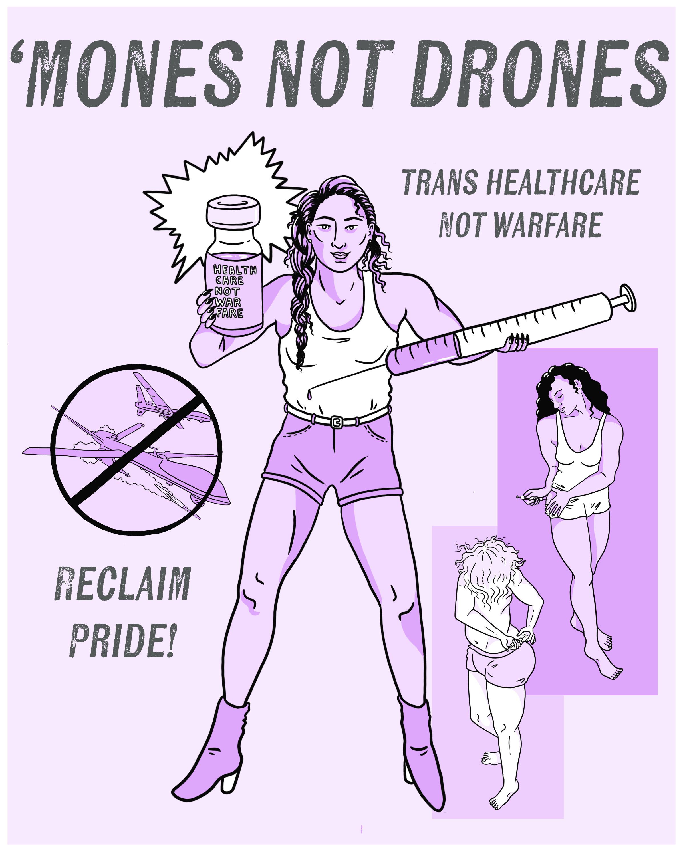Mones Not Drones