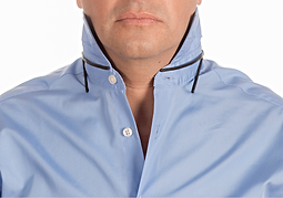 Man with Collar stays
