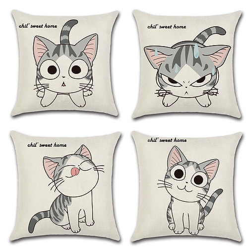 Cat Cushion Covers-01