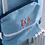 Thumbnail: Travel Baggage Bag-Denim Fabric