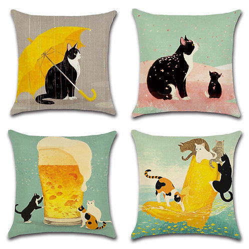 Cat Cushion Covers-02