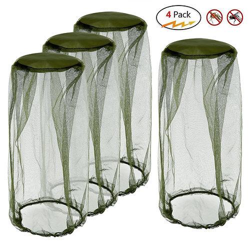 Mosquito Head Net( 4 Pieces)