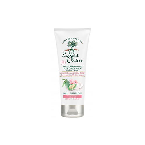 Sweet Almond & Rice Cream Hair Conditioner - Normal Hair - 200ml