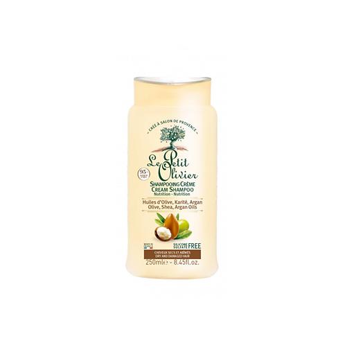 Olive, Shea, Argan Oils Cream Shampoo - Dry & Damaged Hair 250 ml