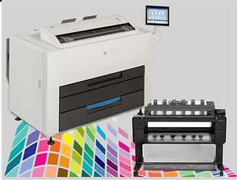 Wide Format Multifunction printers