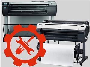 Wide Format printer repair