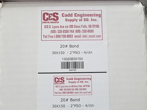 30x150 20# Bond-4ctn