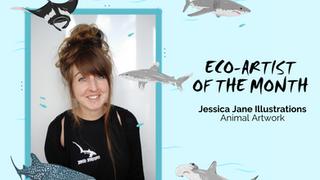 May Eco-Artist: Jessica Jane Illustrations