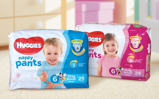 Huggies nappy pants