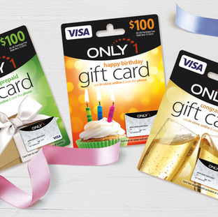 Only 1 Gift Cards