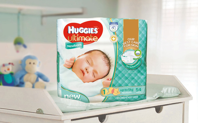 Huggies Ultimate newborn