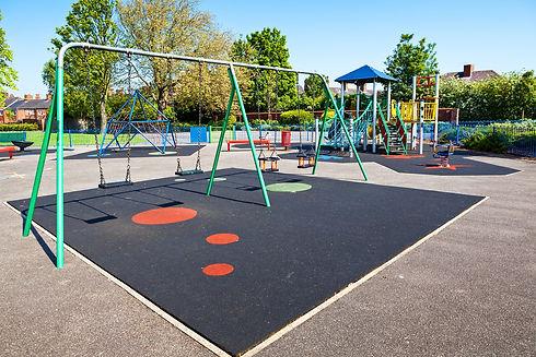 Play Park Coloured Flooring