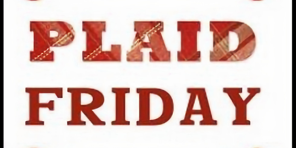 Shift Your Shopping (Plaid Friday)