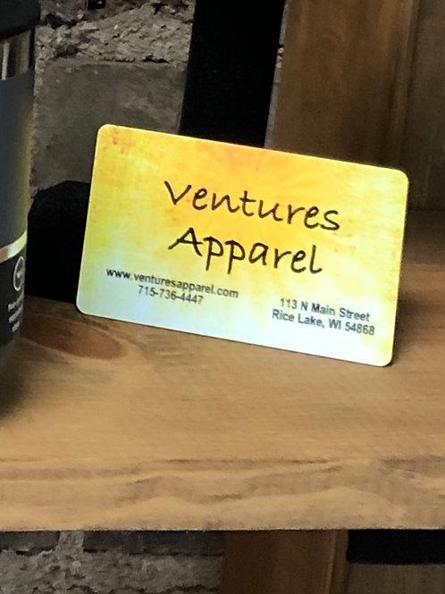 Ventures Apparel Gift Card