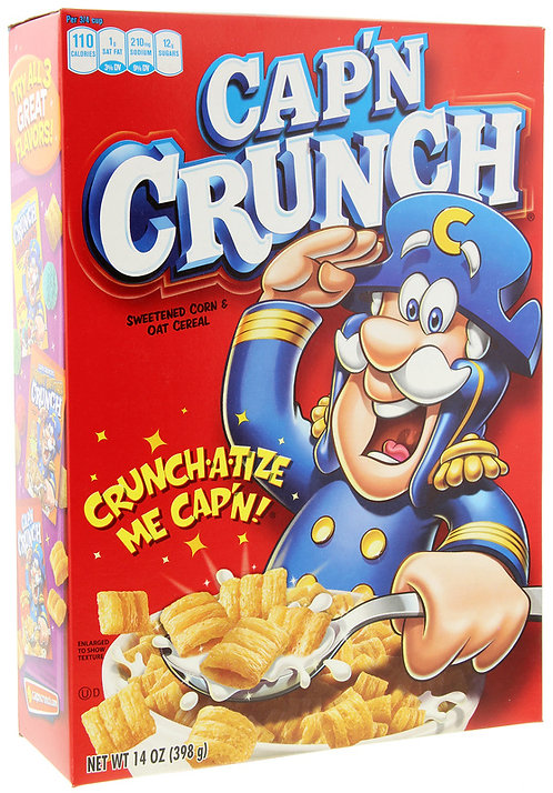 Cap'n Crunch Oat (398 g)