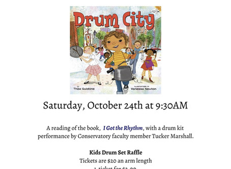 "Story Book Concert: ""Drum City"""