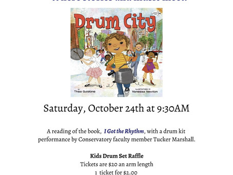 "Story Book Concert: ""Drum City"""