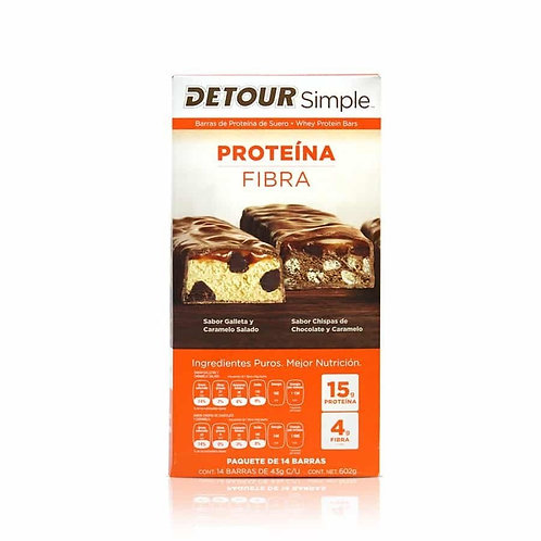 Detour Simple. Protein Fiber Bars