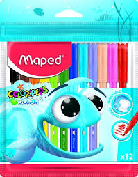 Colored Markers 12