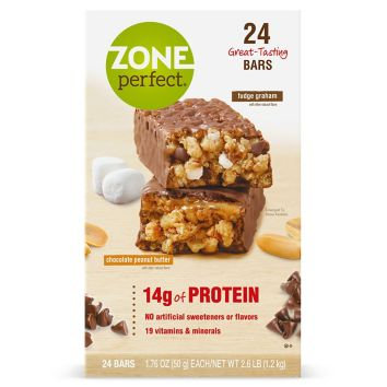 Zone Perfect Fudge Graham (24 bars)