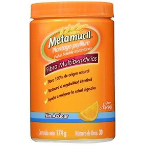 Metamucil Plantago Psyllium Multi-Benefit Fiber (174 g)