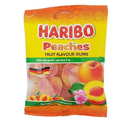 Haribo Peaches (80 g)