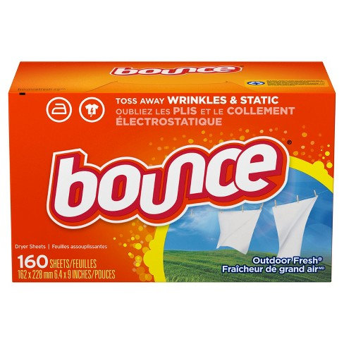 Bounce Dryer Sheets (160 Sheets)