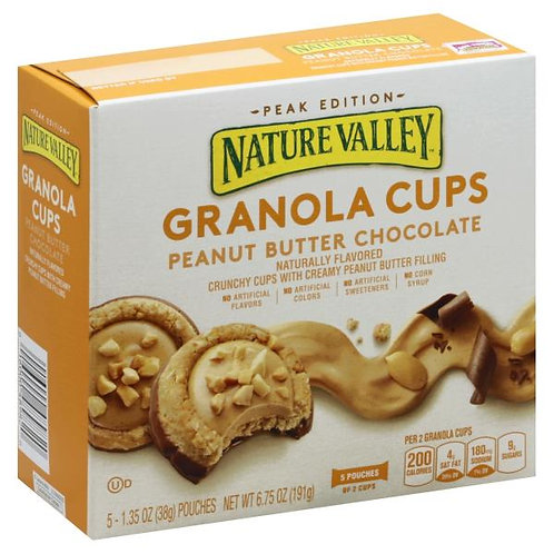 Nature Valley Granola Cups Peanut Butter Chocolate (191 g)