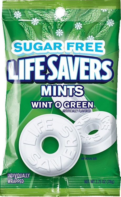 LifeSavers Mints Wint o Green (78 g)