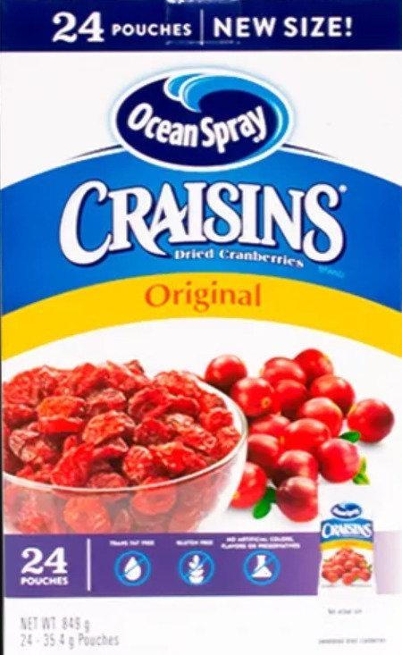 Ocean Spray Craisins Original (Pouches)