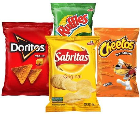 Sabritas Mix - 4 Pack Snack