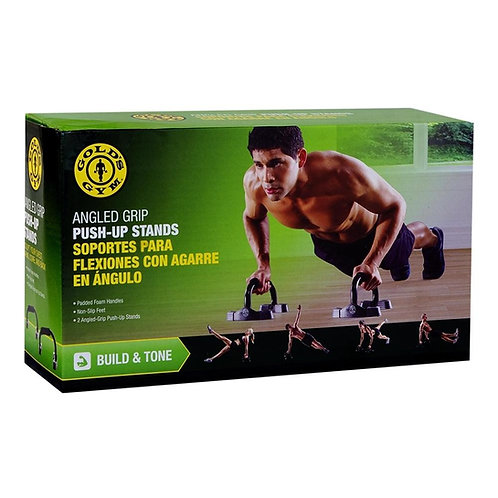 Golds Gym Angled Grip Push-up Stands