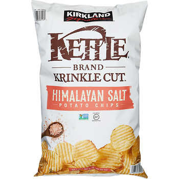 Kettle Brand Potato Chips Himalayan Salt (907 g)