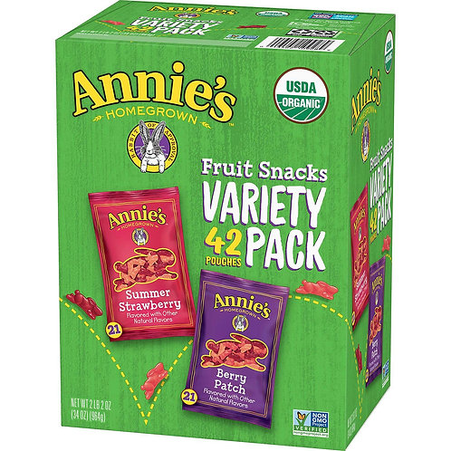 Annie's Homegrown Organic Fruit Snacks