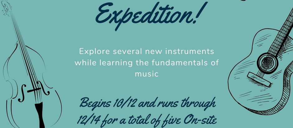 Instrument Expedition!